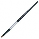 Dynasty® Black Silver® Blended Synthetic Watercolor Brush Bright 6: Short Handle, Bristle, Bright, Watercolor, (model FM32805), price per each
