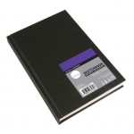 "Cachet® Simply™ Sketchbook 5.5"" x 8.5"" Soft White Paper Hardbound: White/Ivory, Book, 110 Sheets, 5 1/2"" x 8 1/2"", Sketching"