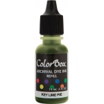ColorBox® Archival Dye Refill Key Lime Pie: Yellow, Pad, Dye-Based, (model CS27415), price per each