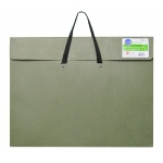 "Star® 17"" x 22"" Earth Friendly Portfolio: Green, 2"", Recycled Fiberboard, 17"" x 22"""