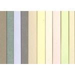 "Canson® Mi-Teintes® 19"" x 25"" Pastel Colors: Fold Over, Multi, Pad, 10 Sheets, 19"" x 25"", (model C100511337), price per 10 Sheets"