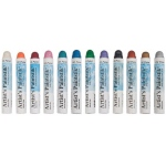 Shiva® Paintstik® Oil Paint Artist Color 12-Piece Iridescent Set: Multi, Stick, Oil, (model SP121508), price per set