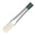 Dynasty® Interboro® Bristle Oil & Acrylic Brush Flat 12: Long Handle, Bristle, Flat, Acrylic, (model FM10582), price per each