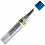 Pentel® Hi-Polymer® Colored Lead Blue .5mm: Blue, .5mm, 12-Pack, Lead, (model PPB-5/BX), price per 12-Pack box