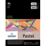 "Canson® Mi-Teintes® Artist Series 9"" x 12"" Fold Over Bound Pad Assorted: Fold Over, Multi, Pad, 24 Sheets, 9"" x 12"", Heavy, Light"