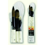 Daler-Rowney Simply Simmons Wash & Dry 3-Brush Set: Synthetic Bristle, Acrylic, (model SS255300003), price per set