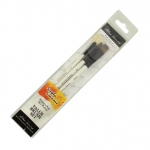 Daler-Rowney Simply Simmons Grass & Grain 3-Brush Set: Synthetic Bristle, Acrylic, (model SS255300006), price per set