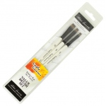 Daler-Rowney Simply Simmons Chisel Edge 3-Brush Set: Synthetic Bristle, Acrylic, (model SS255300008), price per set