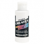 Createx™ Opaque Airbrush Paint 32oz. White: White/Ivory, Bottle, 32 oz, Airbrush, (model 5212-32), price per each