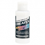 Createx™ Airbrush Gloss Top Coat 16 oz.: Clear, Gloss, Bottle, 16 oz, Airbrush, (model 5604-16), price per each