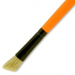 Dynasty® Urban FX Natural Bristle Small Edger: Long Handle, Bristle, Edger, Small, Urban Art