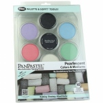 PanPastel Ultra Soft Artists' Painting Pastel Pearlescent 10-Color Set