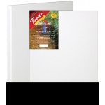 "Fredrix® Artist Series Red Label 6"" x 8"" Stretched Canvas: White/Ivory, Sheet, 6"" x 8"", 11/16"" x 1 9/16"", Stretched, (model T5008), price per each"