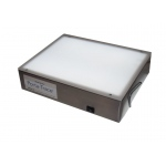 "Gagne Porta-Trace Light box: 10"" x 12"", Stainless Steel Frame"