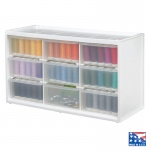 ArtBin Store In Drawer Cabinet: White, 6 Drawers