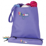"ArtBin Needle Arts Tote w/Accessory Pouch: 16.5"" x 2.25"" x 16.63"""