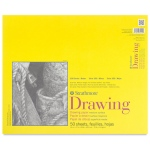 "Strathmore® 300 Series 14"" x 17"" Glue Bound Drawing Pad: Glue Bound, White/Ivory, Pad, 50 Sheets, 14"" x 17"", Medium, 70 lb"