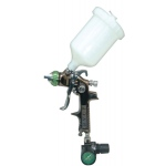 SPRAYIT SP-324 HVLP Gravity Feed Spray Gun with Diaphragm Air Regulator & 1.4mm Tip