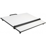 "Alvin® PXB Series Portable Parallel Straightedge Board 16"" x 21"": White/Ivory, 16"" x 21"", Melamine, Drawing Board"