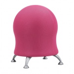 "Zenergy™ Pink Mesh Ball Chair: No, Red/Pink, No, Under 24"", Mesh, (model 4750PI), price per each"
