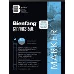 "Bienfang® Graphics 360 14"" x 17"" Layout Paper Pad: White/Ivory, Pad, 50 Sheets, 14"" x 17"", (model 360-3), price per 50 Sheets pad"