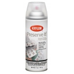 Krylon® Preserve It!™ Gloss Spray: Gloss, Varnish & Specialty, (model K7026), price per each