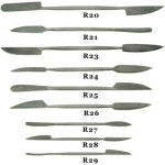Sculpture House Italian Steel Rasps - Set of 9 Rasps