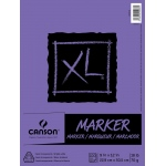 "Canson® XL® 9"" x 12"" Marker Pad (Fold Over): White/Ivory, Pad, 100 Sheets, 9"" x 12"", Marker, (model C400023336), price per 100 Sheets pad"