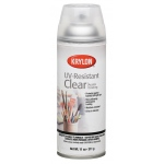 Krylon® UV-Resistant Clear Gloss Spray: Gloss, Varnish & Specialty