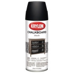 Krylon® Chalkboard Spray Paint Black: Black/Gray, 12 oz, Chalkboard, (model K0807), price per each