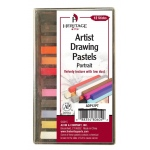 Heritage Arts™ Artist Drawing Portrait 12-Color Pastel Set: Multi, Stick, Drawing, (model ADP12PT), price per set