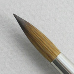 Kolinsky Sable Long Handle Round Brush # 18 (Made in Russia)