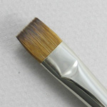 Kolinsky Sable Long Handle Bright Brush # 10 (Made in Russia)