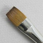 Kolinsky Sable Long Handle Bright Brush # 12 (Made in Russia)