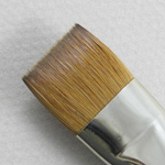 Kolinsky Sable Long Handle Bright Brush # 20 (Made in Russia)