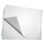"Bienfang® 20"" x 26"" Graphite Transfer Paper: White/Ivory, 25 Sheets, 20"" x 26"", 12.5 lb, (model 407767), price per 25 Sheets"