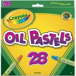 Crayola® Hexagonal Oil Pastel 28-Color Set: Multi, Stick, Oil, (model 52-4628), price per pack