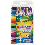 Crayola® Pip-Squeaks® Washable Skinnies Marker 16-Color Set: Multi, Washable, (model 58-8146), price per pack