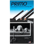 Primo® Euro Blend™ Charcoal Drawing Set: Black/Gray, White/Ivory, Pencil, Stick, (model 59), price per set