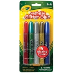 Crayola® Washable Glitter Glue Bold 5-Color Set: Multi, Glitter, (model 69-3522), price per pack