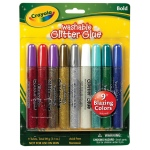 Crayola® Washable Glitter Glue Bold 9-Color Set: Multi, Glitter, (model 69-3527), price per pack