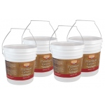 Heritage Premium Gesso Medium: Gallon, Box of 4