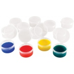 "Heritage Arts™ Mini Cups: Plastic, 3/4"" x 1 1/2"", Cup, (model CUP12), price per pack"