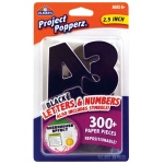 "Elmer's® Project Popperz™ Letters/Numbers/Symbols Black: Black/Gray, 2 1/2"", (model E3069), price per each"