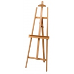 Heritage Arts™  Pizarro Lyre-Style Wood Easel: Wood, Artist, (model HWE7202), price per each
