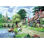 "Royal & Langnickel® Painting by Numbers™ 12 3/4 x 15 3/4 Adult Set Duck Feeding: 12 3/4"" x 15 3/4"", (model PAL11), price per set"
