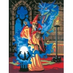 "Royal & Langnickel® Painting by Numbers™ 8 3/4 x 11 3/8 Junior Small Set Sorcerer: 8 3/4"" x 11 3/8"", (model PJS14), price per set"