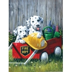 "Royal & Langnickel® Painting by Numbers™ 8 3/4 x 11 3/8 Junior Small Set Fire Waggin: 8 3/4"" x 11 3/8"", (model PJS46), price per set"