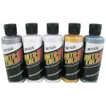 Auto-Air Colors™ Airbrush Paint Metallic Set: Multi, Bottle, 4 oz, Airbrush, (model 4950-04), price per set