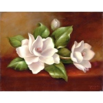 "Royal & Langnickel® Paint Your Own Masterpiece™ 11 x 14 Magnolias: 11"" x 14"", (model POM-SET15), price per set"